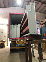 One set of 3*18m truck scale which weighing capacicty is 80 ton is being loaded in a 40' container